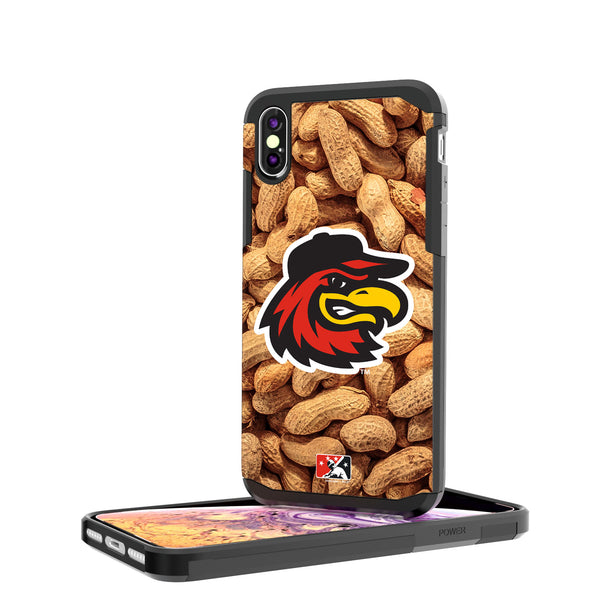 Rochester Red Wings Peanuts iPhone XS Max Rugged Case