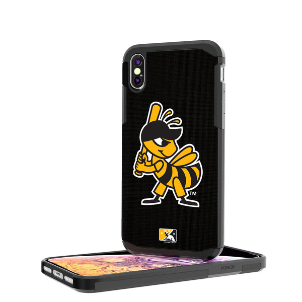 Salt Lake Bees Solid iPhone XS Max Rugged Case