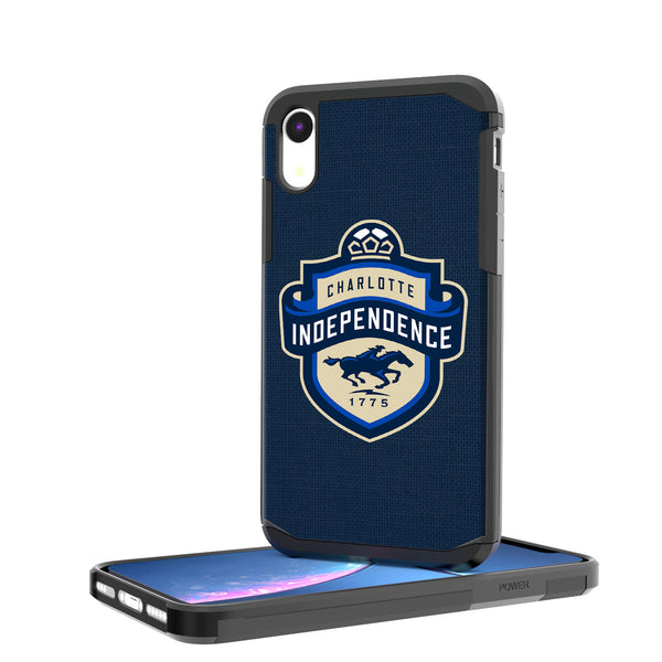 Charlotte Independance  Solid iPhone XR Rugged Case