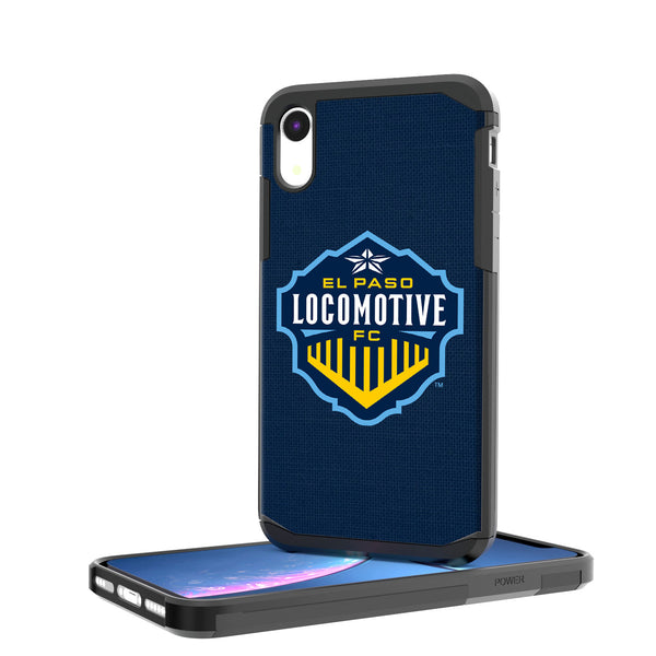 El Paso Locomotive FC  Solid iPhone XR Rugged Case