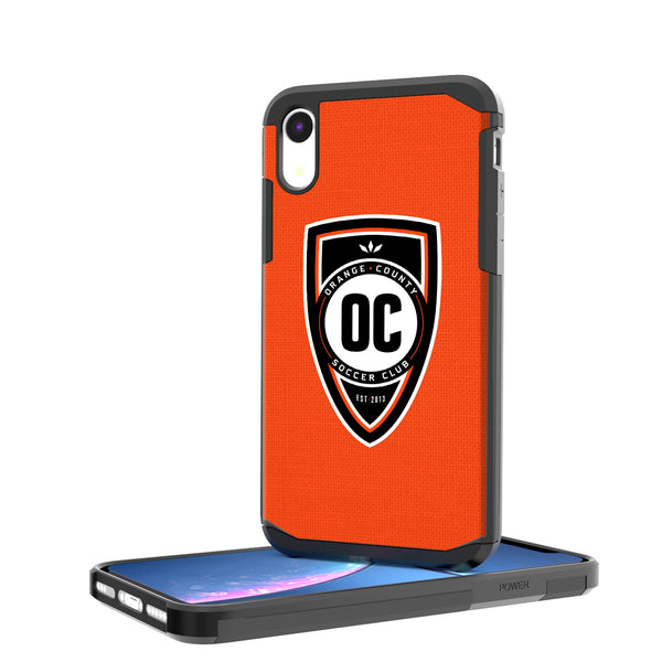 Orange County SC  Solid iPhone XR Rugged Case