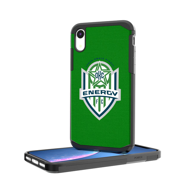 OKC Energy FC  Solid iPhone XR Rugged Case