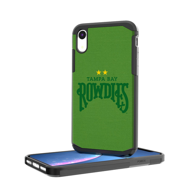 Tampa Bay Rowdies Solid iPhone XR Rugged Case