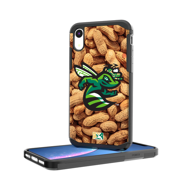 Augusta GreenJackets Peanuts iPhone XR Rugged Case