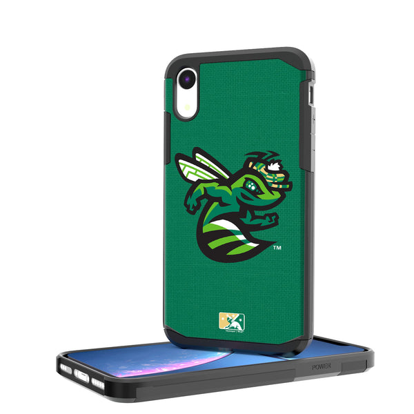 Augusta GreenJackets Solid iPhone XR Rugged Case