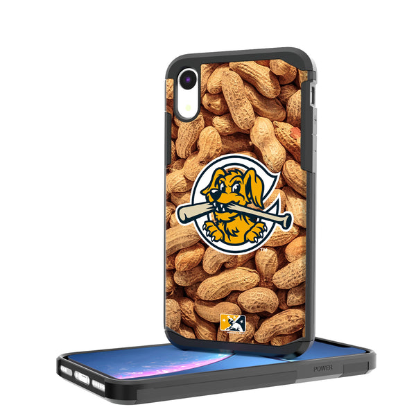 Charleston RiverDogs Peanuts iPhone XR Rugged Case