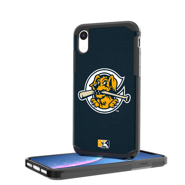 Charleston RiverDogs Solid iPhone XR Rugged Case