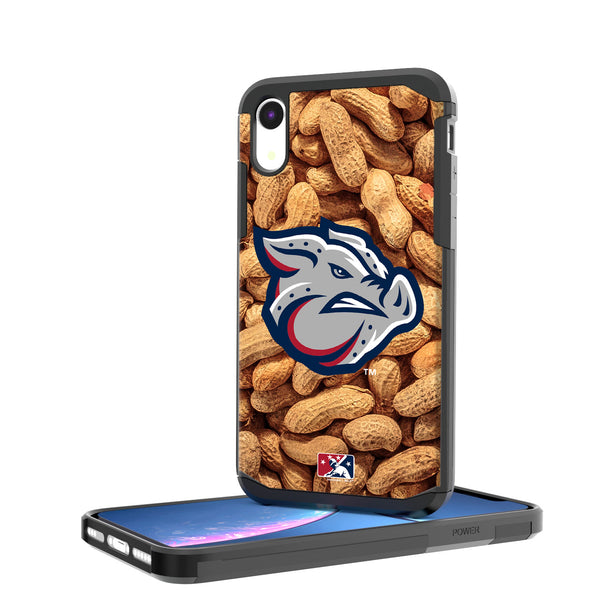 Lehigh Valley IronPigs Peanuts iPhone XR Rugged Case