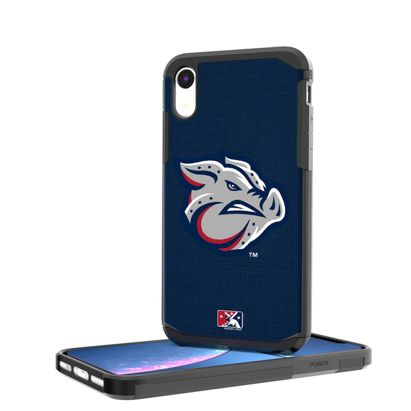 Lehigh Valley IronPigs Solid iPhone XR Rugged Case