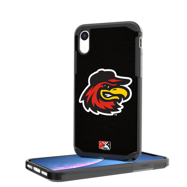 Rochester Red Wings Solid iPhone XR Rugged Case