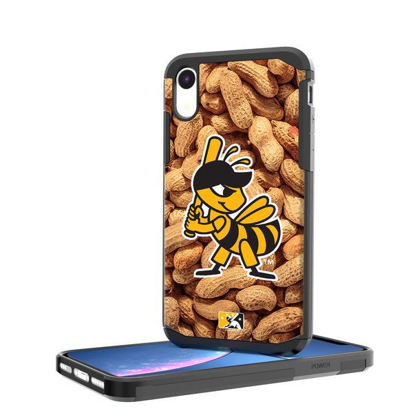 Salt Lake Bees Peanuts iPhone XR Rugged Case