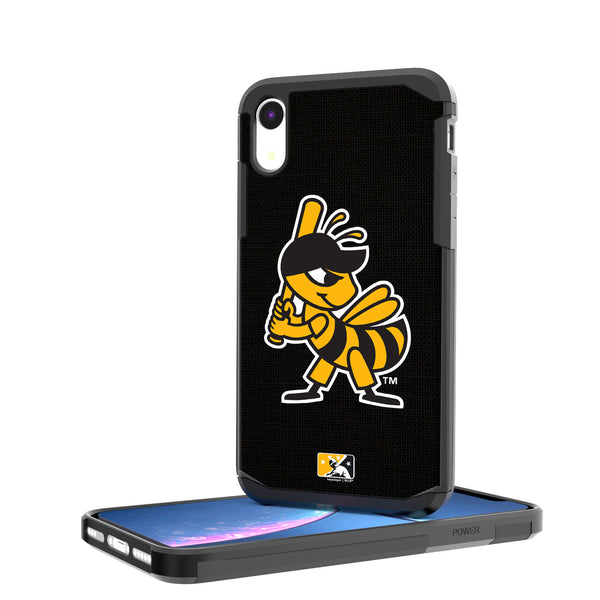 Salt Lake Bees Solid iPhone XR Rugged Case