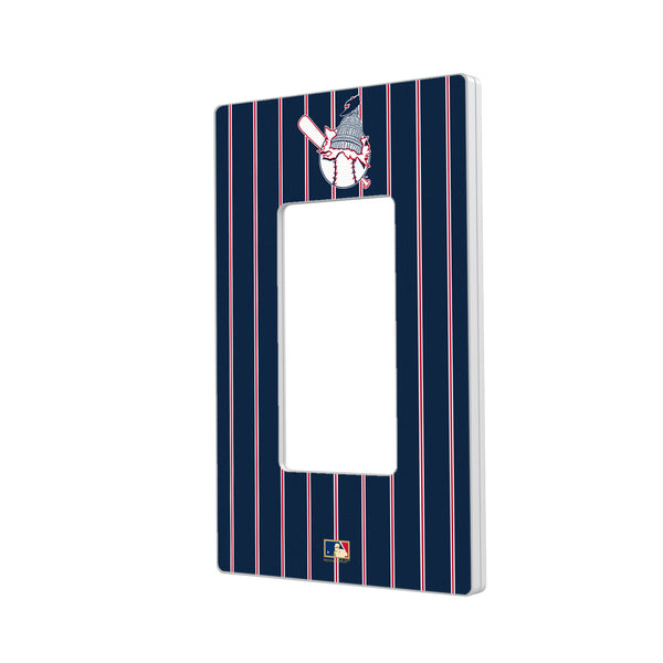 Washington Senators 1953-1956 - Cooperstown Collection Pinstripe Hidden-Screw Light Switch Plate - Single Rocker