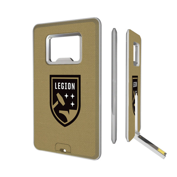 Birmingham Legion FC  Solid Credit Card USB Drive with Bottle Opener 16GB