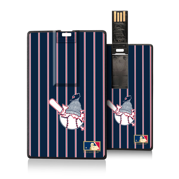 Washington Senators 1953-1956 - Cooperstown Collection Pinstripe Credit Card USB Drive 16GB
