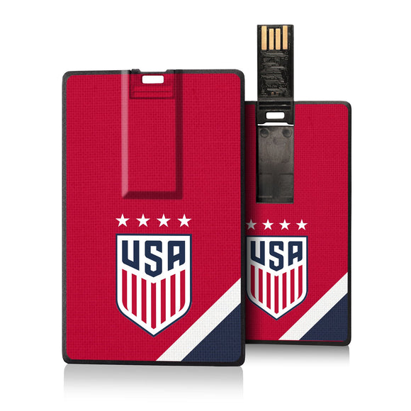 United States Womens National Team Diagonal Stripe Credit Card USB Drive 16GB