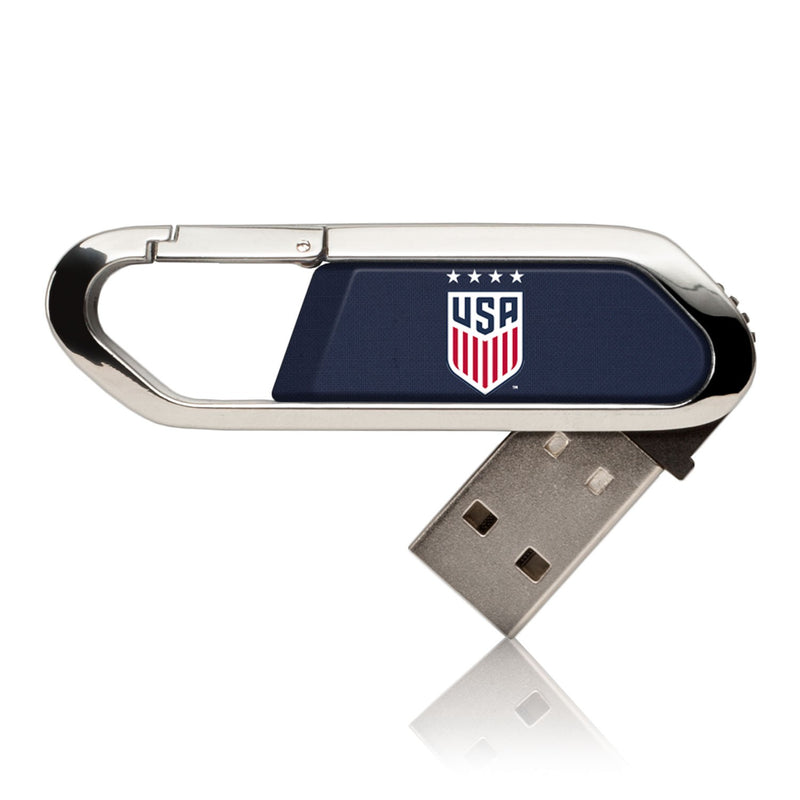 United States Womens National Team Solid USB 16GB Clip Style Flash Drive