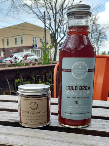 Cold Brew Coffee and Steak Rub