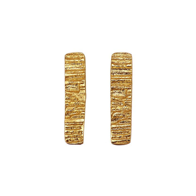 Gold Plated Burren Earrings