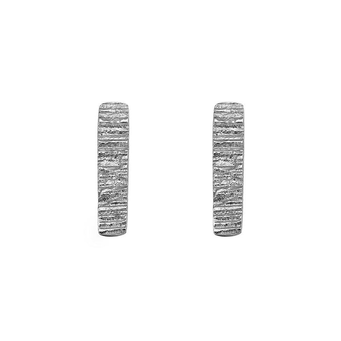 Silver Burren Earrings Buy Irish Jewellery Designer Loinnir Jewellery