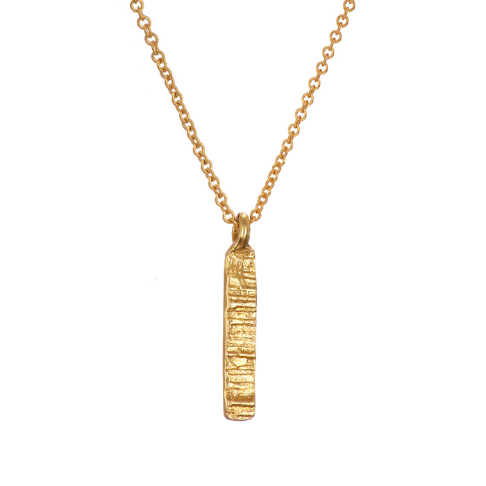 Gold Plated Burren Necklace Irish Jewellery Designer Loinnir