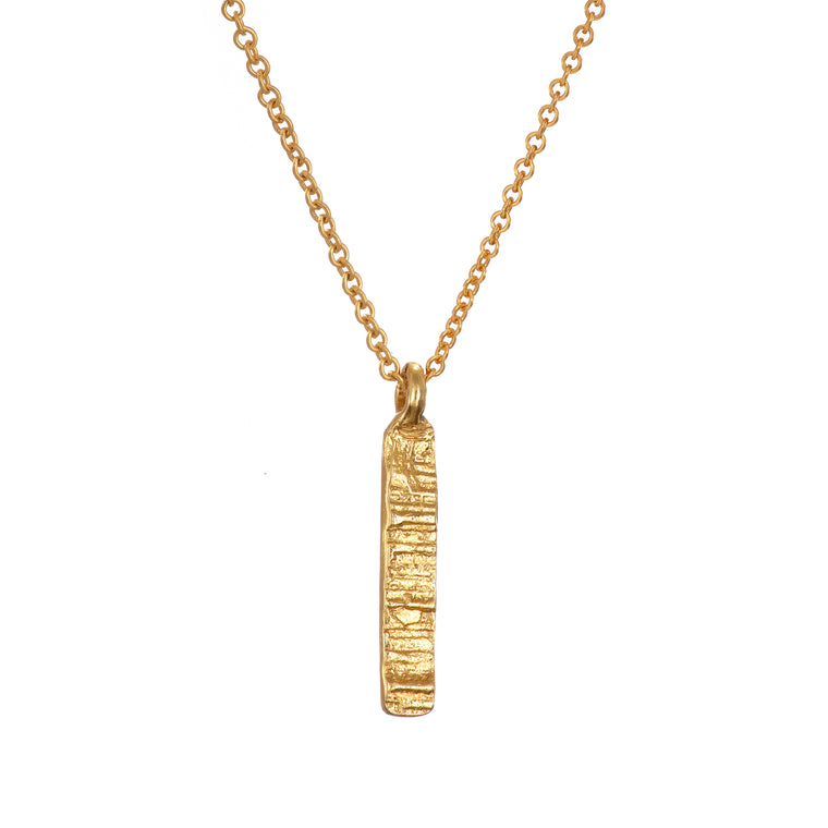 Gold Plated Burren Necklace