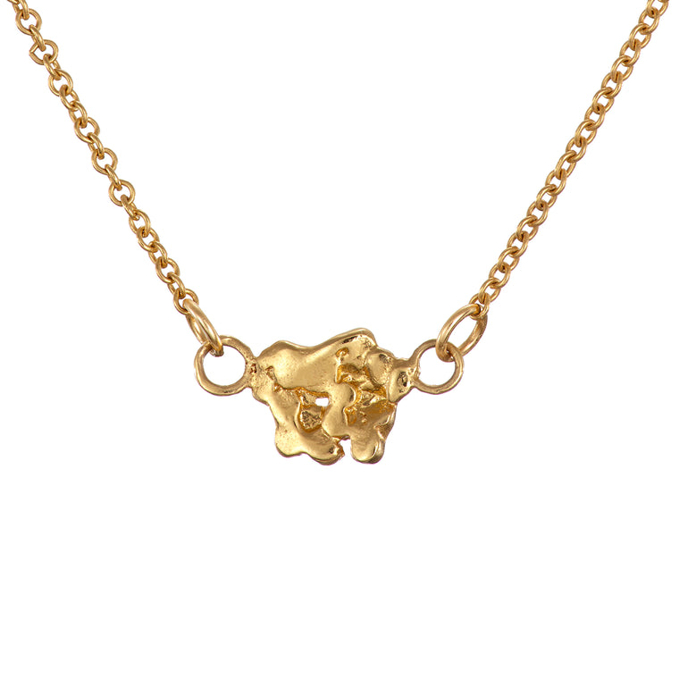 Gold Plated The Giant's Causeway Necklace