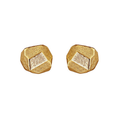 Gold Plated W.B Yeats Earrings Irish Jewellery Designer Loinnir Jewellery