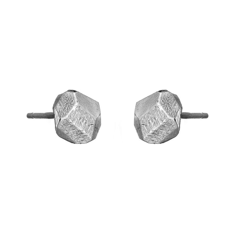 Silver W.B Yeats Stud Earrings Irish Jewellery Designer Loinnir Jewellery