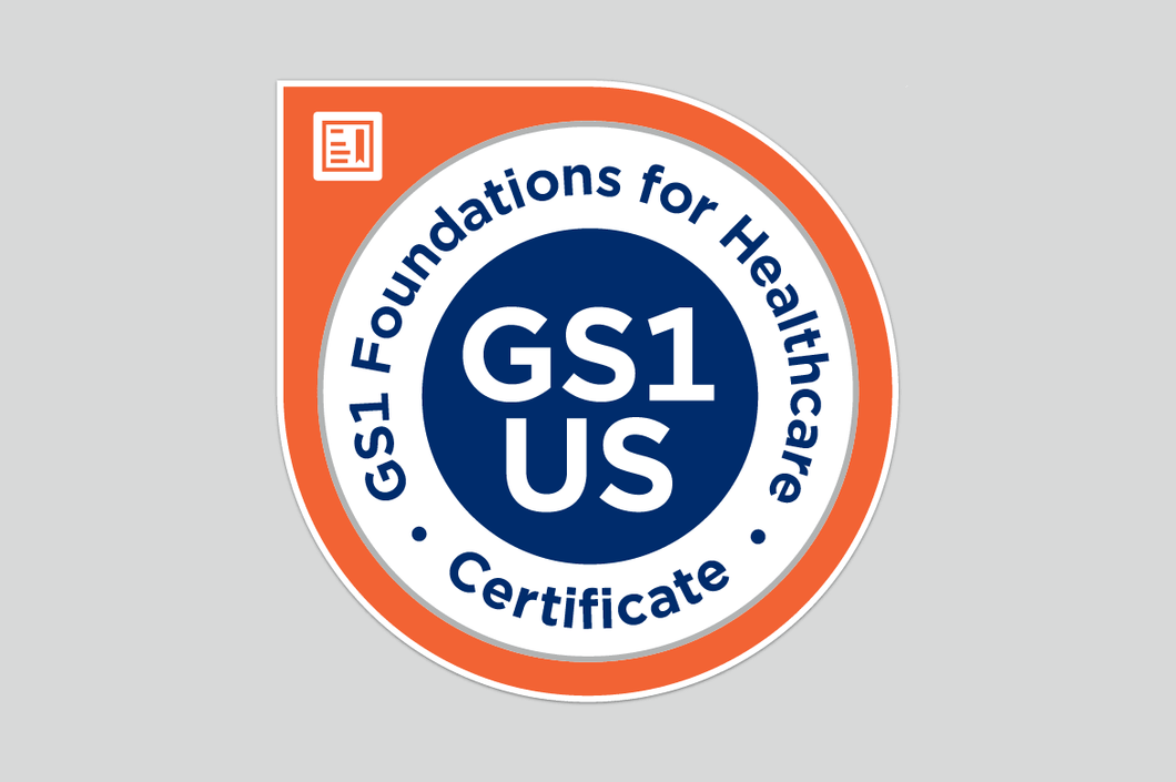 GS1 Foundations for Healthcare Online Certificate Course