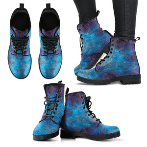 Bohemian Mandala Women's Leather Boots