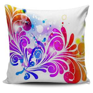 Graphic Pillow Cover