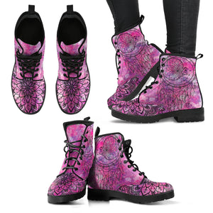 Moon Dream Catcher Women's Leather Boots