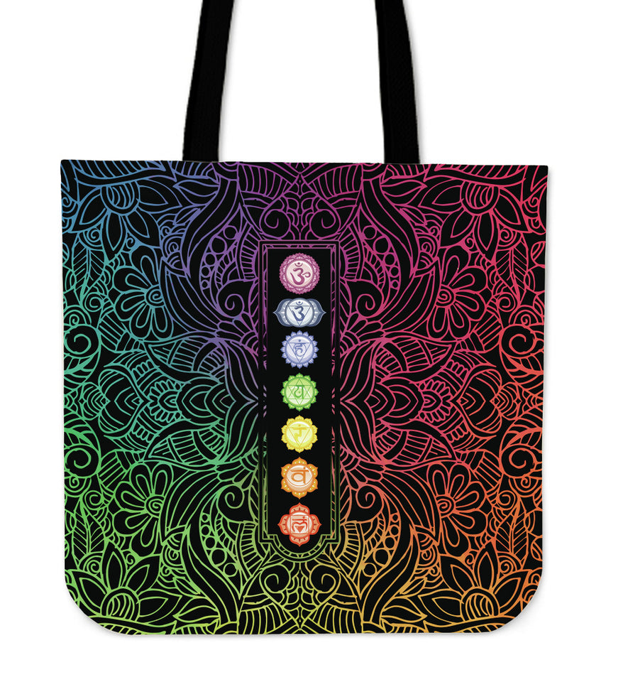 Chakra Highlight Tote Bag