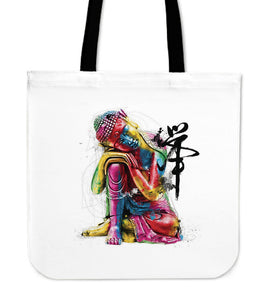 Abstract Buddha Tote Bag