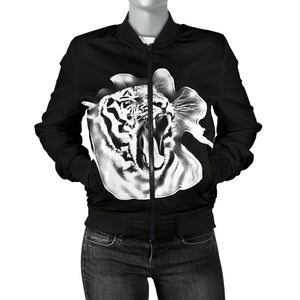 Women's Bomber Jacket Tiger