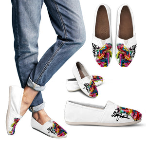 Abstract Buddha Casual Shoes