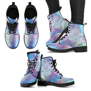 Ganesha Elephant Women's Leather Boots
