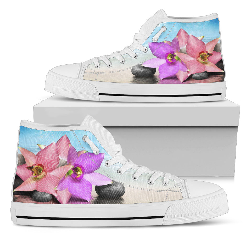 Colorful Lotus High Tops
