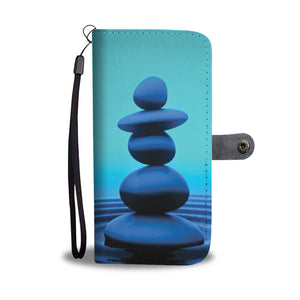 Zen Ripples Wallet Phone Case