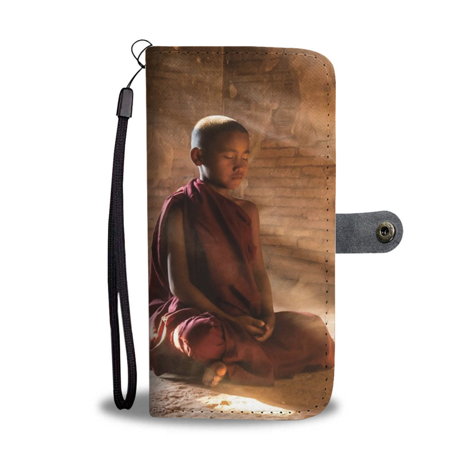 Inner Peace Wallet Phone Case