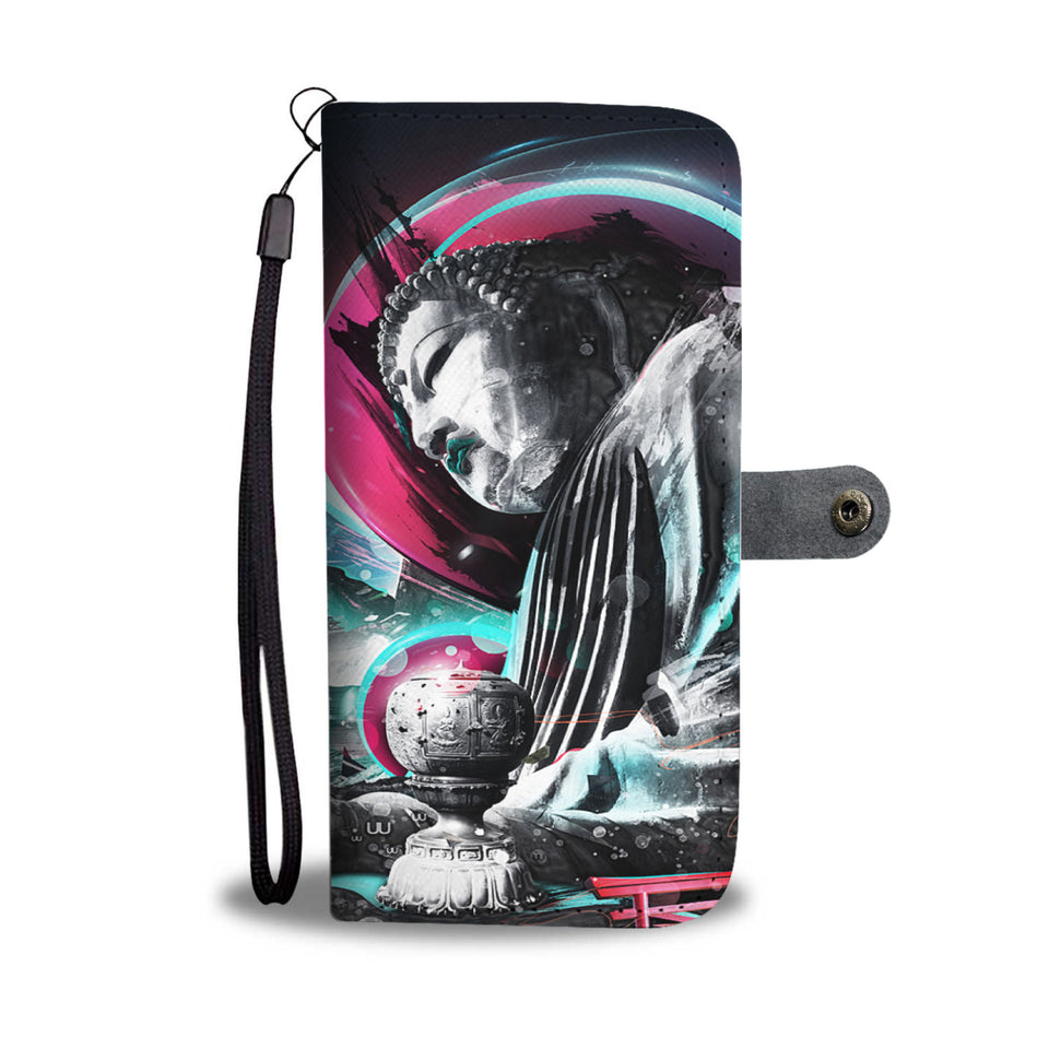 Buddha Pop Art Wallet Phone Case
