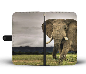 Majestic Elephant Wallet Phone Case