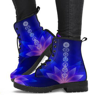 Lotus Chakra Women's Leather Boots
