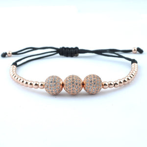 18K Gold Plated Bracelets with 18K Gold Plated Beads. 7 Options. - Hilltop Apparel - 1
