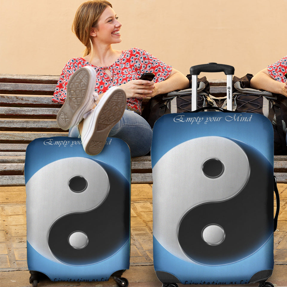 Yin Yang Luggage Cover