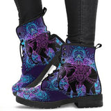 Mandala Elehant Women's Leather Boots
