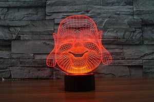 3D Buddha LED Lamp - Hilltop Apparel - 4