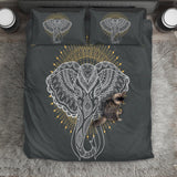 Abstract Elephant Bedding Set