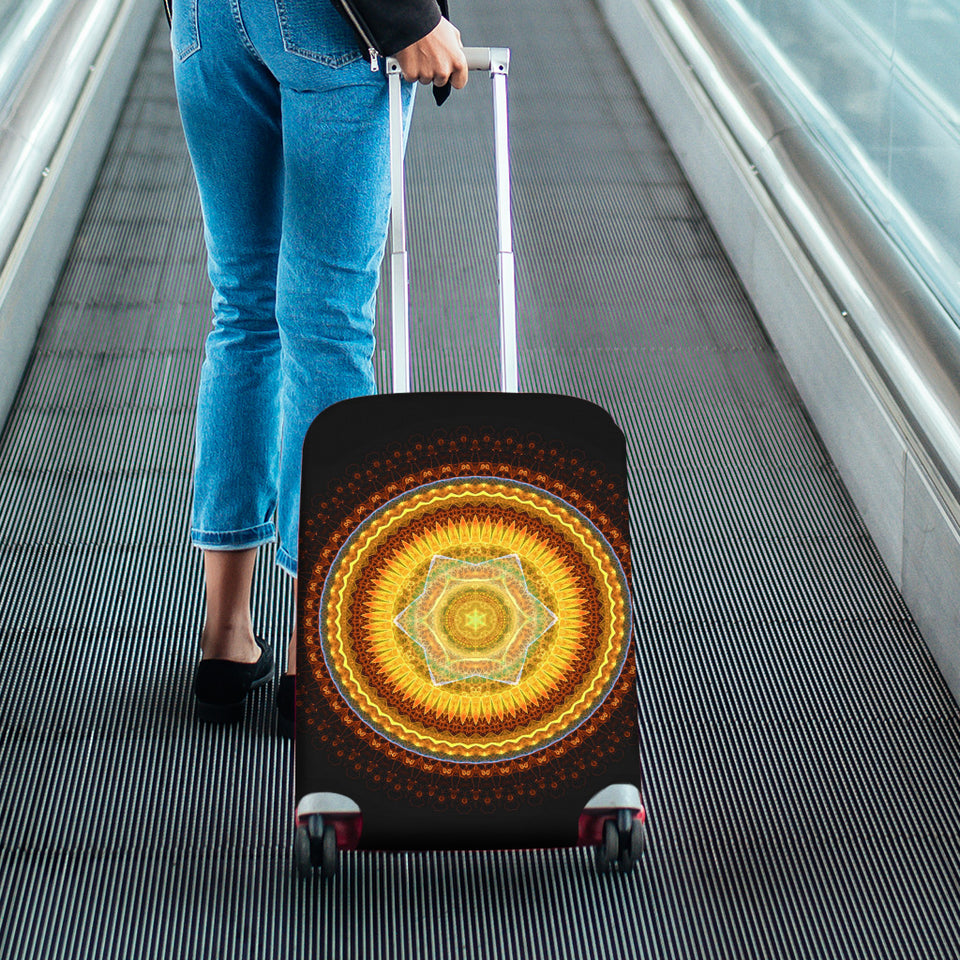 Pattern Luggage Cover